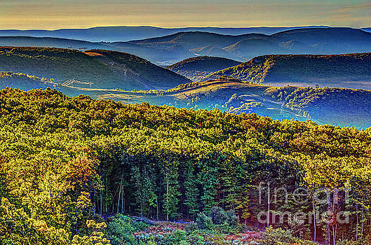 Mountains in Early Autumn 2080HDRT by Doug Berry