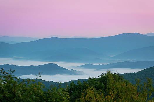 Mountains in the Mist by Matt Spangard