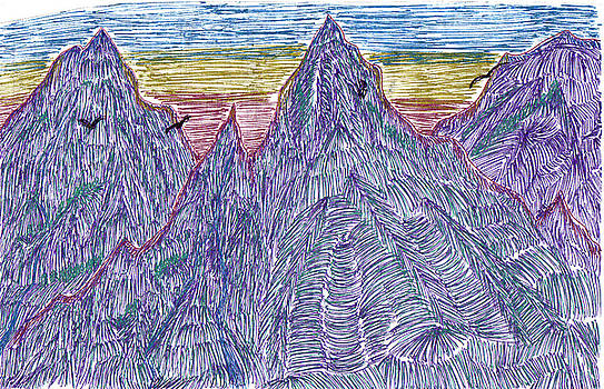 Mountains by Lynnette Jones