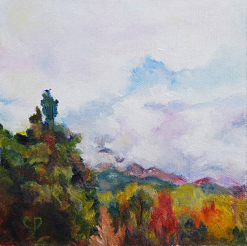 Mountains of Corsica by Carol DeMumbrum