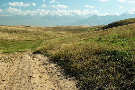 Mountains of Kyrgyzstan by Victoria Savostianova