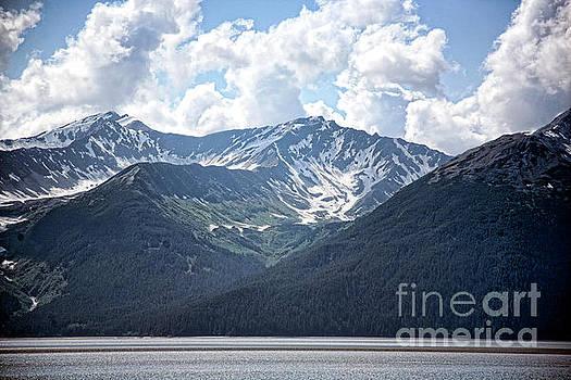Mountains Water Alaska by Chuck Kuhn