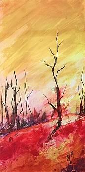 Mountainside #1 by Melanie Stanton