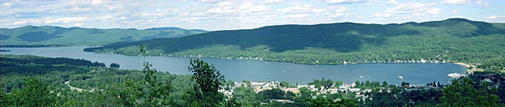Mountin View Of Lake Geroge by Reni Boisvert