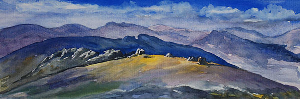 Mourne Mountains 2 by Anne Marie ODriscoll