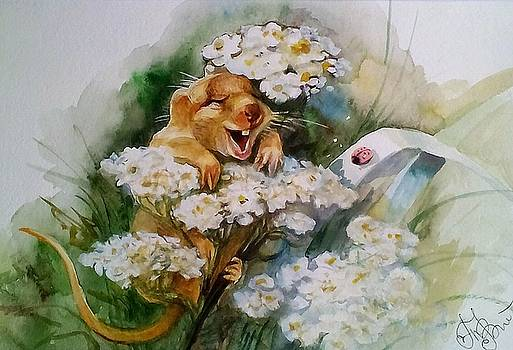 Mouse fun by Valeriya Temnenko