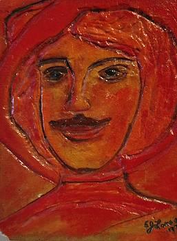 Moustached Prince by Edward Longo