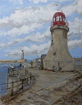 Mouth Of The Tyne by Fred Urron