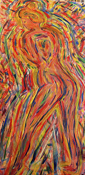 Moving nude by Carolyn Donnell