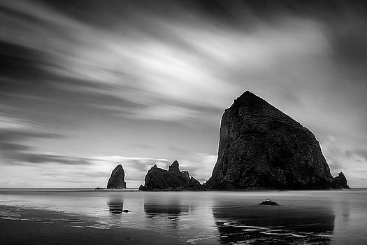 Moving Skies over Cannon Beach by Andrew Soundarajan