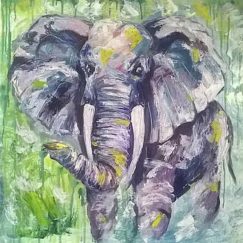 Mr. elephant by Ann Bakina