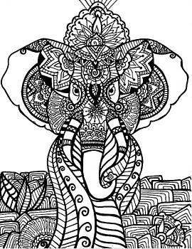 Mr. Elephante by Nicole Dumond-Barry