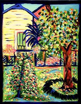 Mr Elmers Backyard by Ted Hebbler