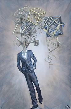 Mr. Octahedron Iteration 1 by Vincent Fink