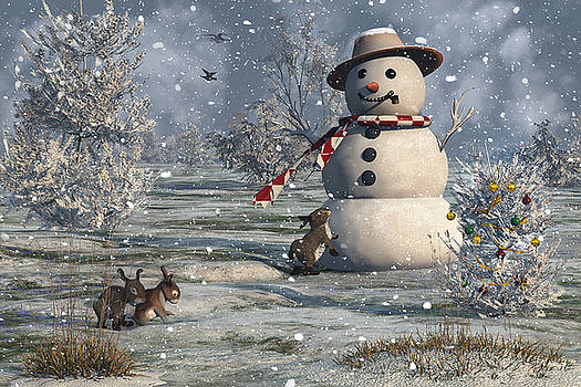 Mr Snowman by Mary Almond