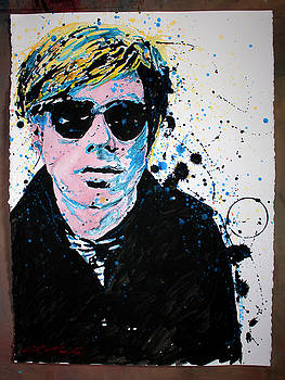 Mr Warhol by Chris Mackie