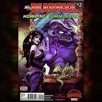 mrs. Deadpool And The Howling by XPUNKWOLFMANX Jeff Padget