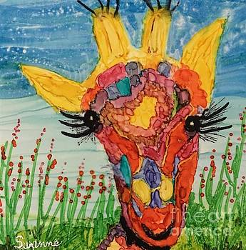 Mrs Giraffe by Suzanne Canner