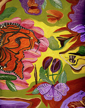 Ms Monarch by Judy Huck