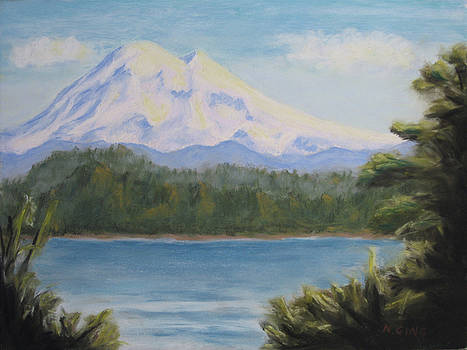 Mt. Baker In Summer by Nancy Ging