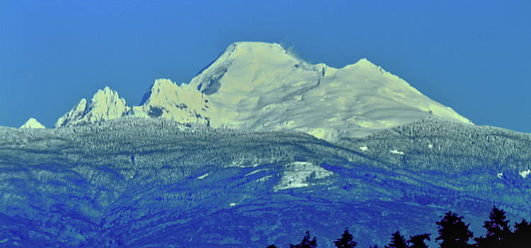 Mt. Baker Washington by Bob Patterson