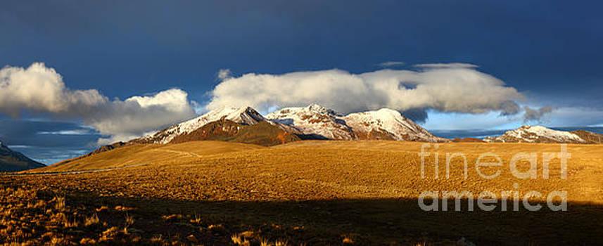James Brunker - Mt Chacaltaya Panorama