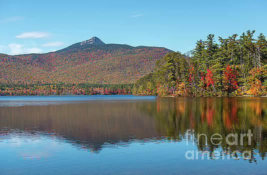 Mt Chocorua in Autumn by Sharon Seaward