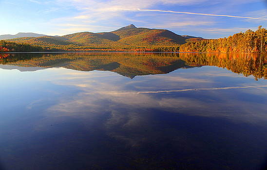 Mt. Chocorua in Blue by Suzanne DeGeorge