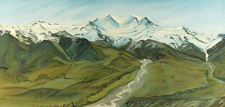 Mt. Eielson by Amy Reisland-Speer