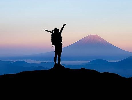 Mt, FUJI by Maki Kobayashi