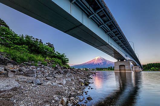 Mt Fuji - Under the Bridge by Craig Szymanski