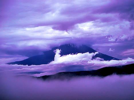 Mt Fuji by Yvonne Johnstone