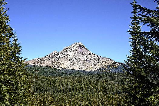 Mt Hood by Larry Darnell