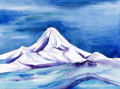 Mt. Hood Snow by Collin Murphy