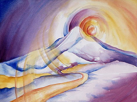 Mt. Hood Sun by Collin Murphy
