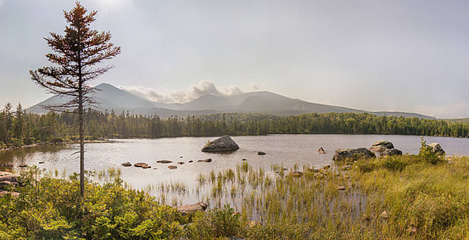 Mt Katahdin Pano by Peter J Sucy