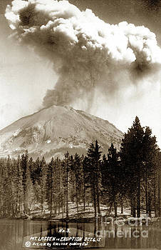 California Views Mr Pat Hathaway Archives - Mt. Lassen in Eruption Oct. 6, 1915