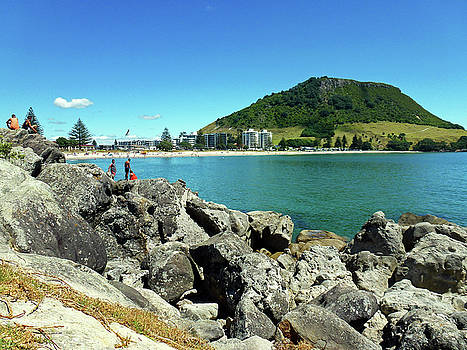 Mt Maunganui Beach 11 - Tauranga New Zealand by Selena Boron
