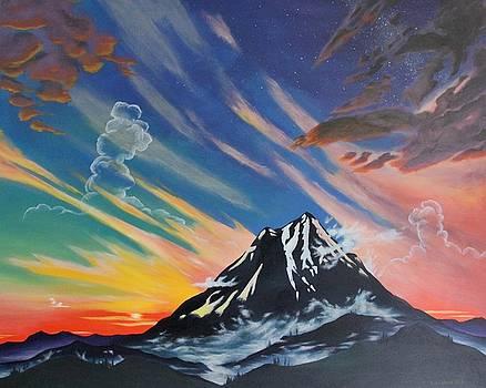 Mt McGlaughlin  by Ross Wood