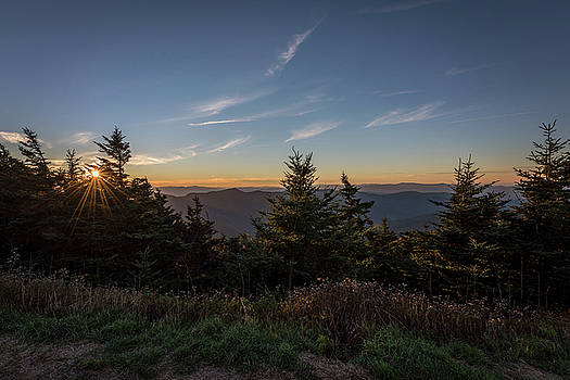 Terry DeLuco - Mt Mitchell Sunset North Carolina 2016