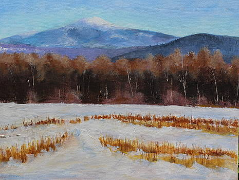Mt. Monadnock in Winter by Lenore Gaudet