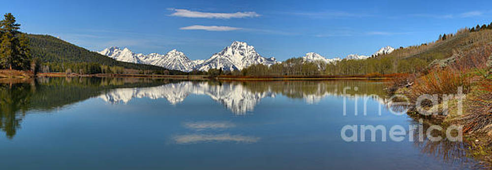 Adam Jewell - Mt. MOran Reflections At Oxbow
