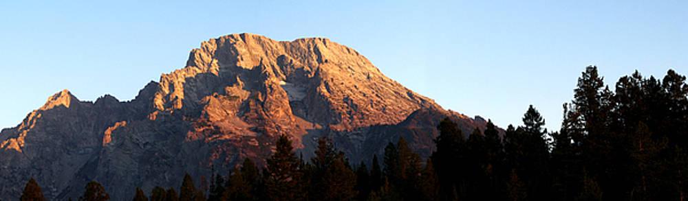 Mt. Moran Sunrise by David Kocherhans