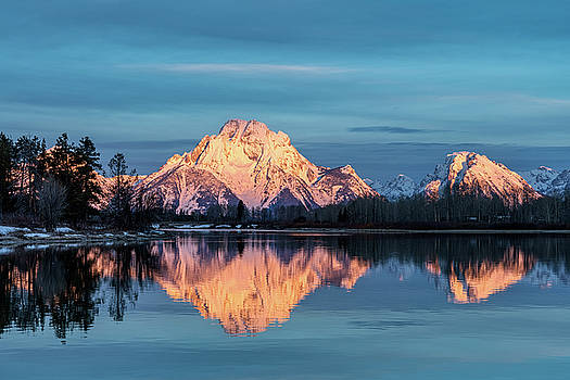 Tibor Vari - Mt. Moran Sunrise Grand Teton National Park
