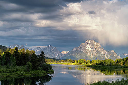Tibor Vari - MT. Moran Sunrise in GTNP
