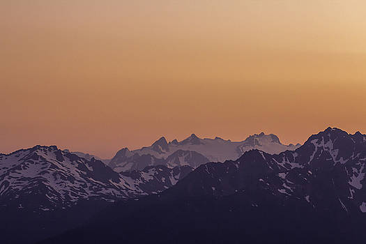 Mt Olympus Sunset by Curtis Knight