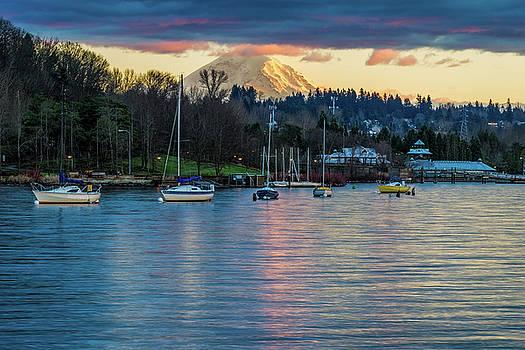 Mt Rainier in View by Ken Stanback