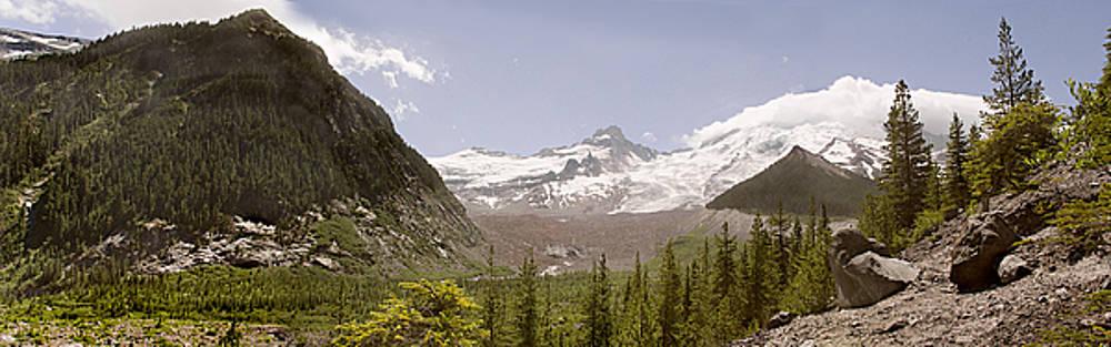 Mt Rainier Pano by Peter J Sucy
