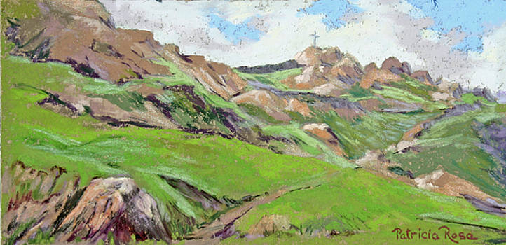 Mt. Reubidoux Vista by Patricia Rose Ford