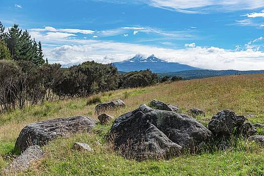 Mt Ruapehu view by Gary Eason